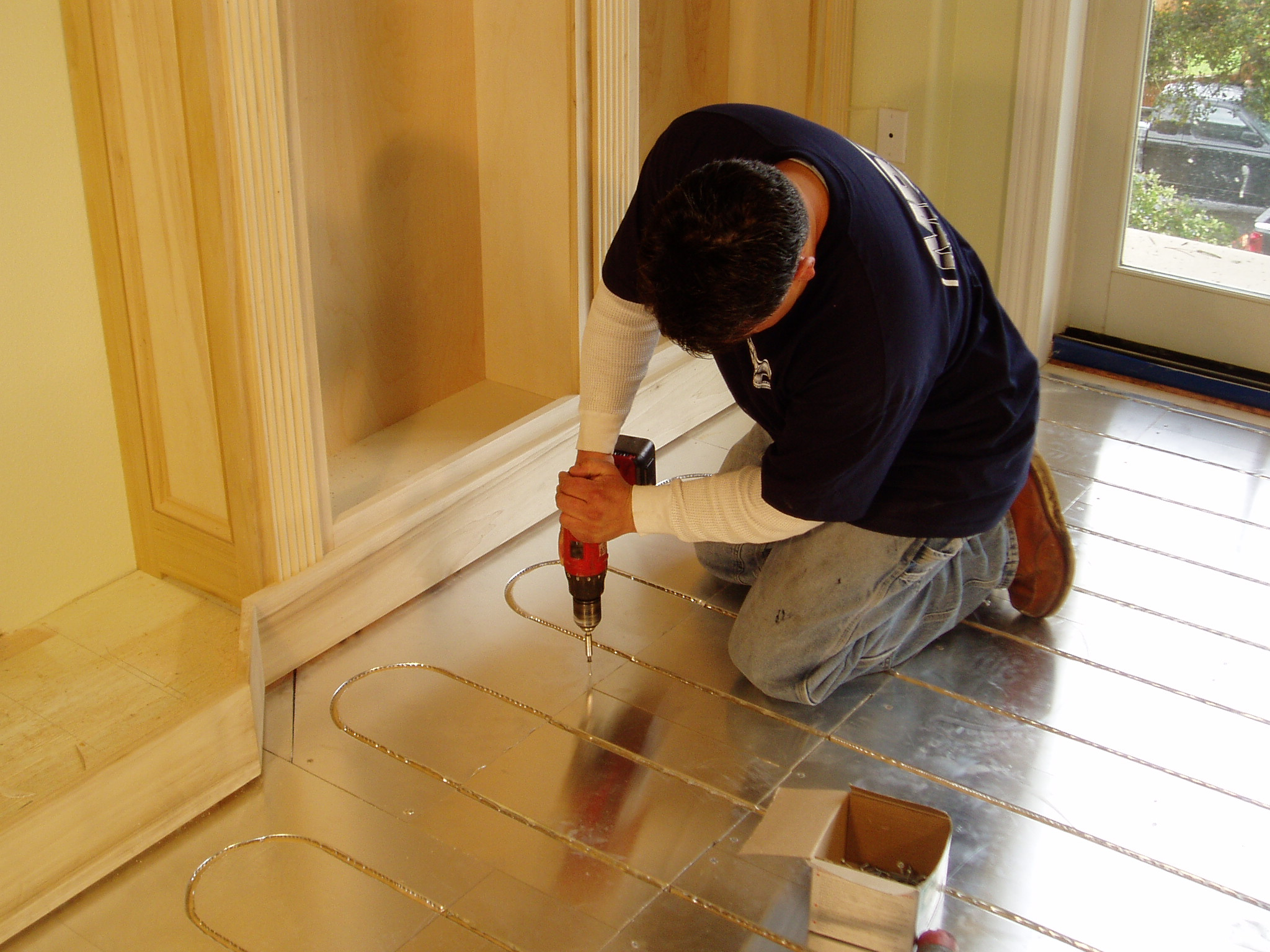 Thermalboard Radiant Heat Installation